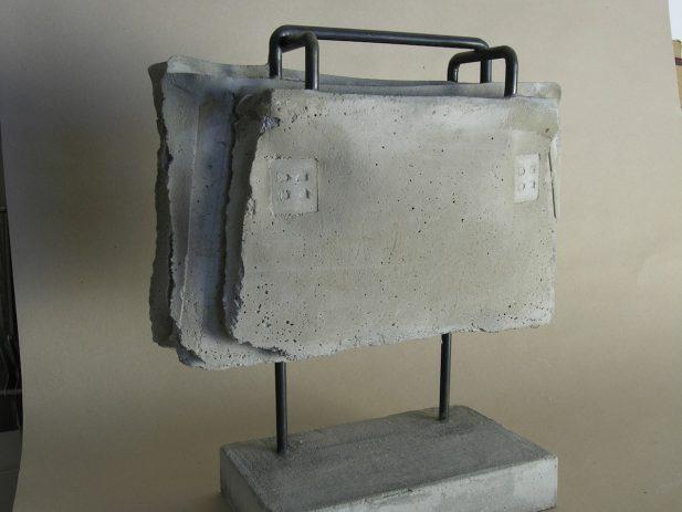 2009, Beton, Rundeisen 42 x 48 x 14 cm