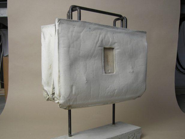 Alfred Bär 2009, Beton, Rundeisen 42 x 48 x 14 cm