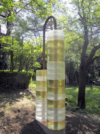 Bank, 2010 Glas, Bronze, Beton