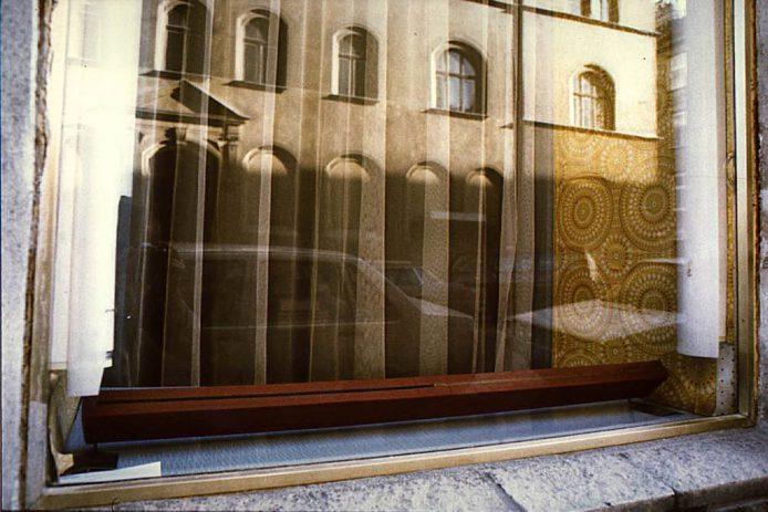 Auslage Hemdenmacher Strassgirtl, Wien IV, Mühlg. 13