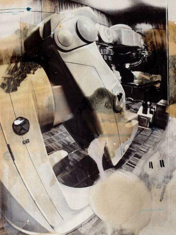 Auction-79,, 2014, Öl, Wachs auf Illustrierte, 34 x 22 cm